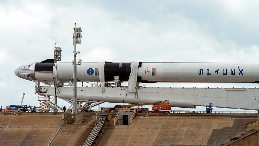 SpaceX'in Crew Dragon kapsülü için fırlatma durduruldu!