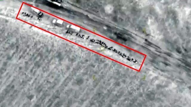 Aliyev 'Sahada cevap vereceğiz' demişti! Ermenistan birlikleri SİHA'larla bir bir böyle yok edildi