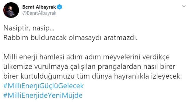 Erdoğan'ın verdiği yeni doğal gaz keşfi müjdesine Bakan Albayrak'tan ilk yorum: Dünya hayranlıkla izleyecek