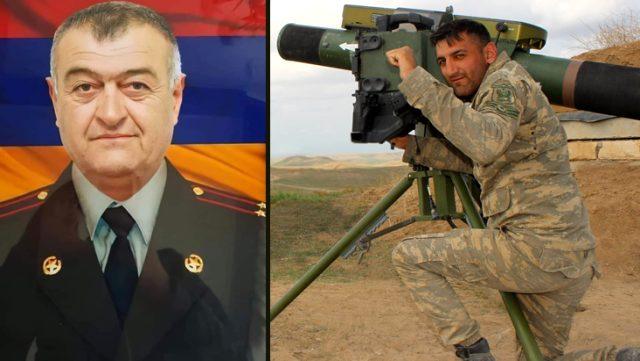Ermenistan ordusunda 'Dehşet' lakabı ile bilinen Albay Artur Galstyan, Karabağ'da öldürüldü