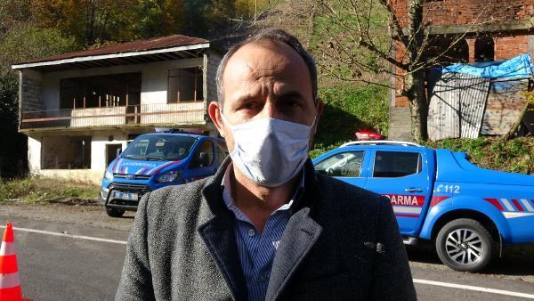 Trabzon'da; karantinayı duyan mahalleden kaçtı
