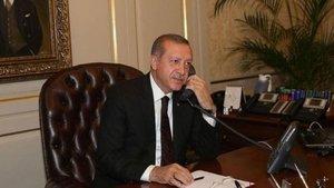 Cumhurbaşkanı Erdoğan'dan iki lidere telefon