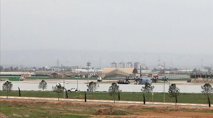 Erbil Havaalanı'na İHA'lı saldırı